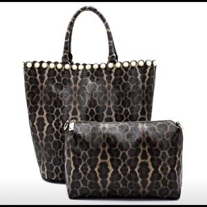 Leopard Pearl 2 in 1 Bag